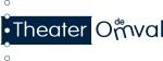 logo theater de omval donkerblauw op wit #15874B